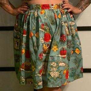 "Gorgeous ""Mexico"" Themed skirt"